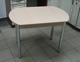Стол раскладной Евро (ножки хром)