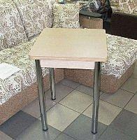 Стол раскладной Ломберный (ножки хром)
