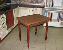 Стол раскладной Ломберный с ящиком (ножки дерево)