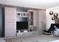 Гостиная Ненси-1 со шкафом