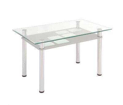 Стол обеденный с полкой МДФ 3.0 Браво-мебель
